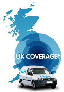 We deliver throughout the UK